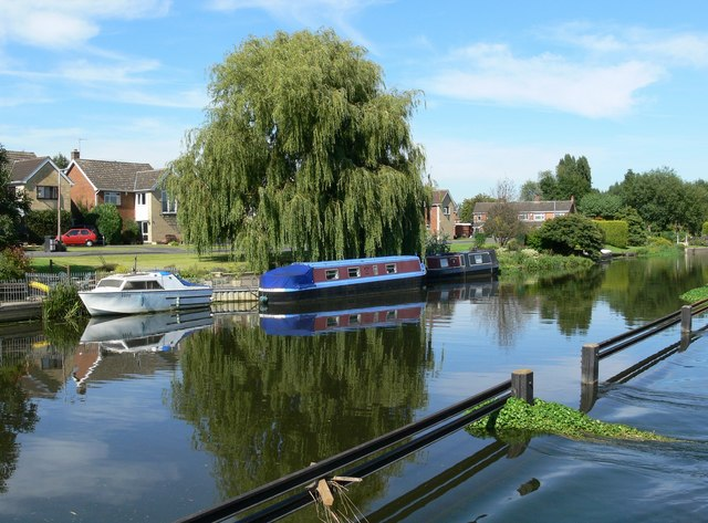 Grand Union Canal south of Barrow upon Soar