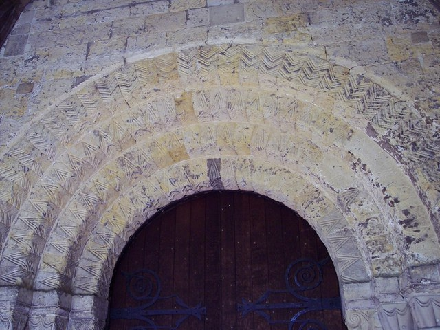 All Saints Church, Helmsley - Door Arch