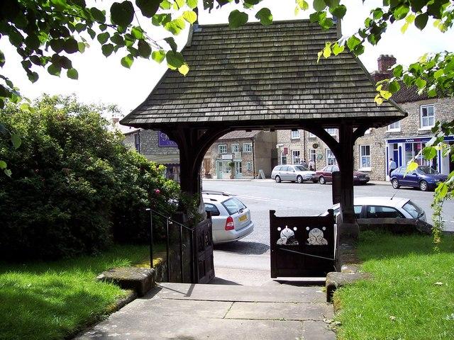 All Saints Church, Helmsley - Lych Gate
