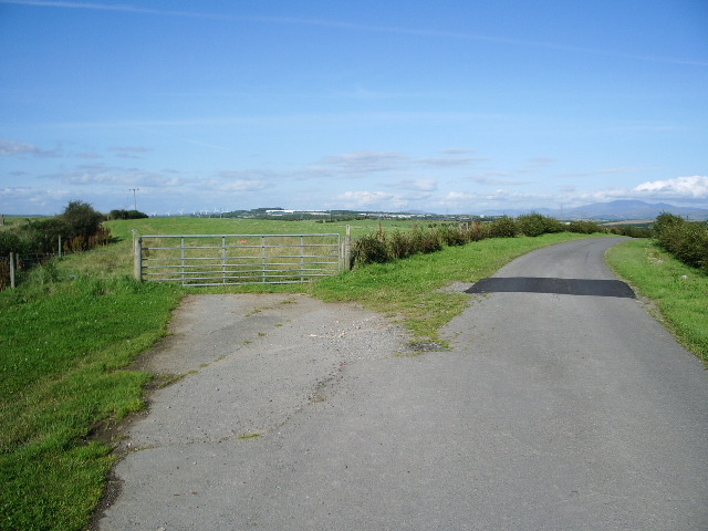 The road to Park House