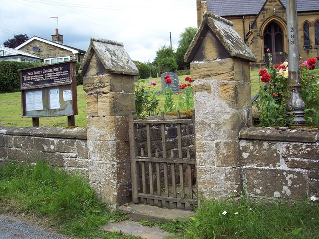 Holy Trinity Church, Boltby - Gate