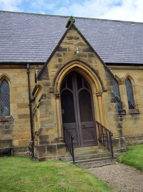 Holy Trinity Church, Boltby - Porch