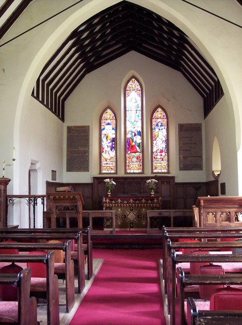 Holy Trinity Church, Boltby - Interior