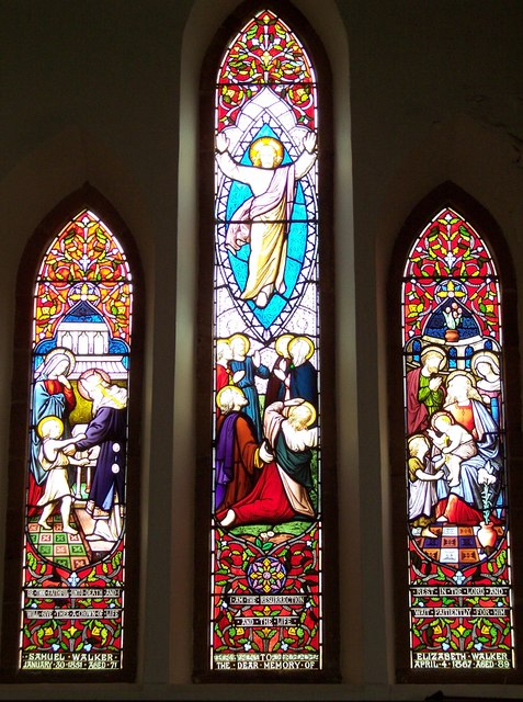 Holy Trinity Church, Boltby - Stained Glass Window