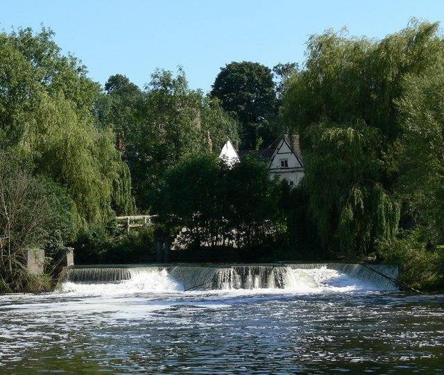 Weir at Mountsorrel