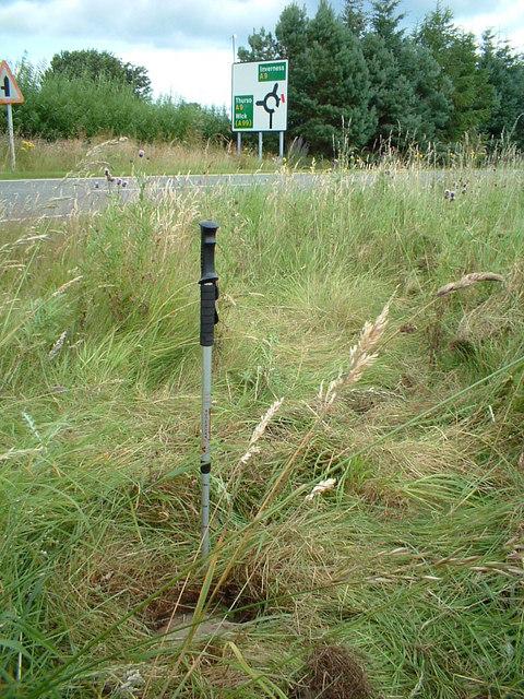 Pole marks the spot