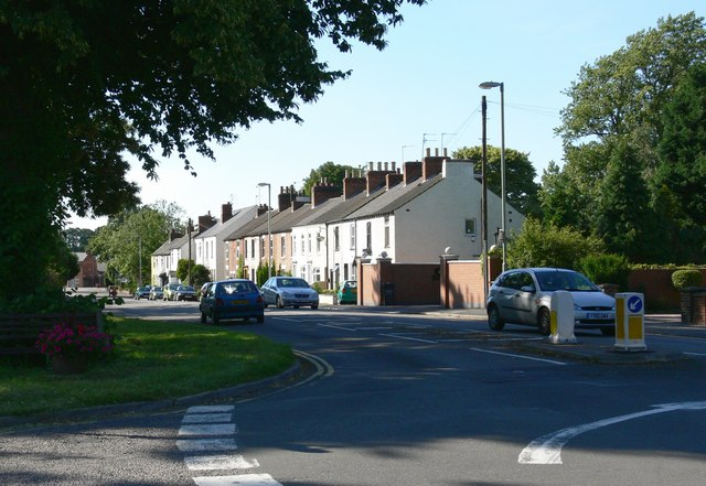 Terraced Houses along Leicester Road, Quorn