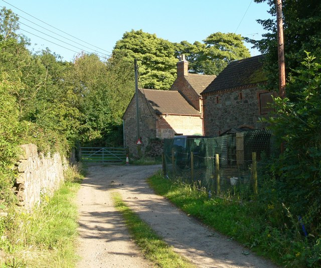 Farm track near Quorn, Leicestershire