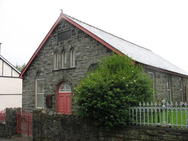 Capel Seion Chapel (Bedyddwyr Albanaidd - Scotch Baptists)