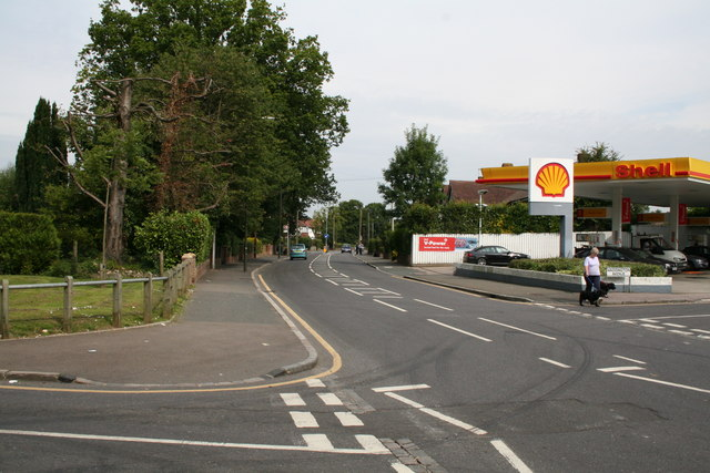 Shell garage, Coulsdon Road, Old Coulsdon