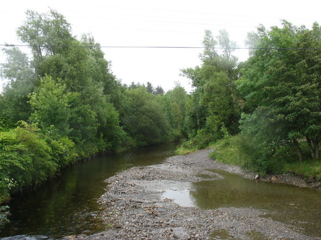 Afon Prysor upstream of Pont Trawsfynydd