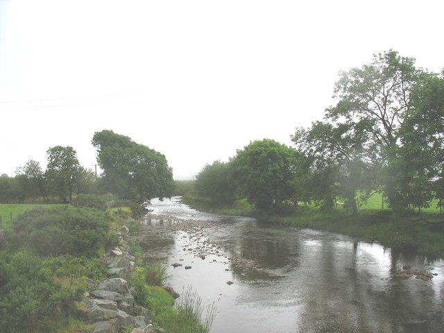 Afon Prysor below Pont Trawsfynydd
