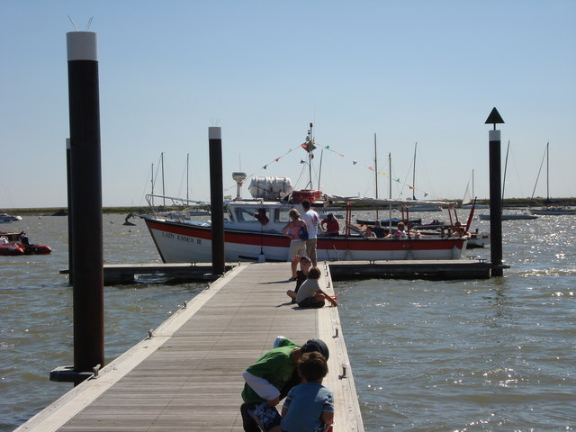 Ferry landing at Burnham