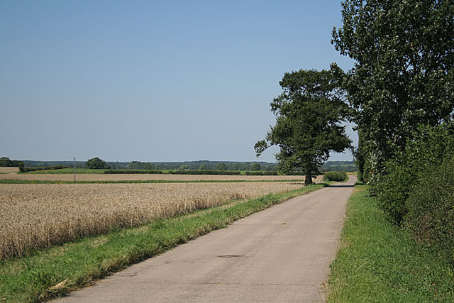 The road to Highwood Farm