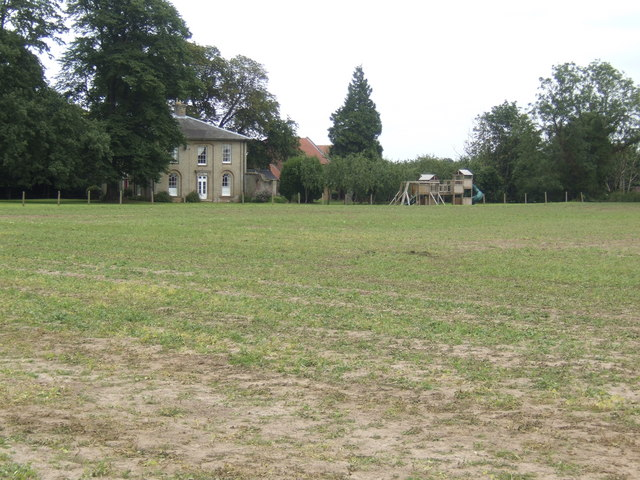 Across the fields to Kenwick Hall