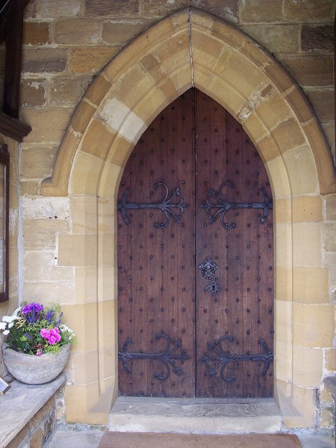 The Church of St Felix, Felixkirk - Door