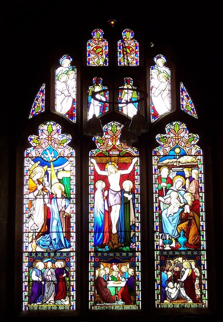 The Church of St Felix, Felixkirk - Stained Glass Window
