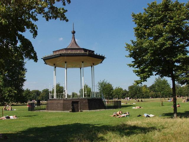 Bandstand, Kensington Gardens