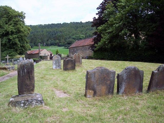 The Church of St Wilfrid, Kirby Knowle - Churchyard
