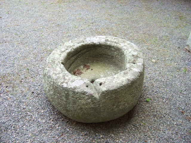 Cup stone