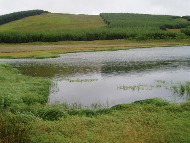 Unnamed loch near Knocksting.