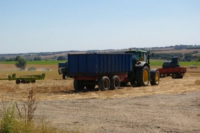 Harvesting at Kettlebaston