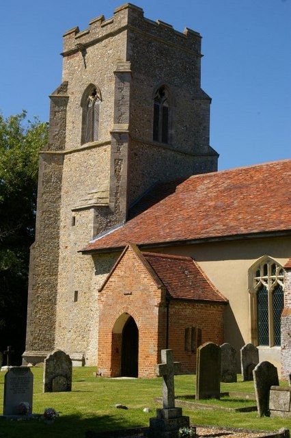 The tower of St Mary the Virgin