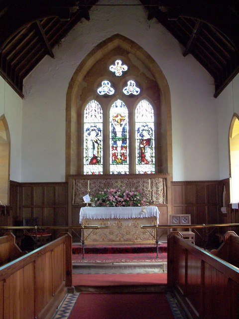 The Church of St Wilfrid, Kirby Knowle - Interior