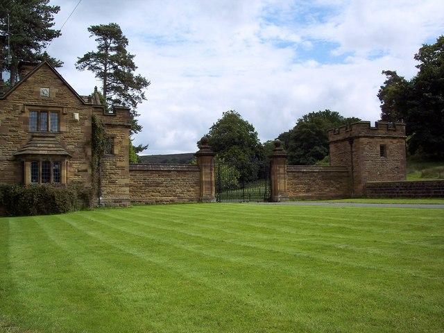 Entrance to Kepwick Hall
