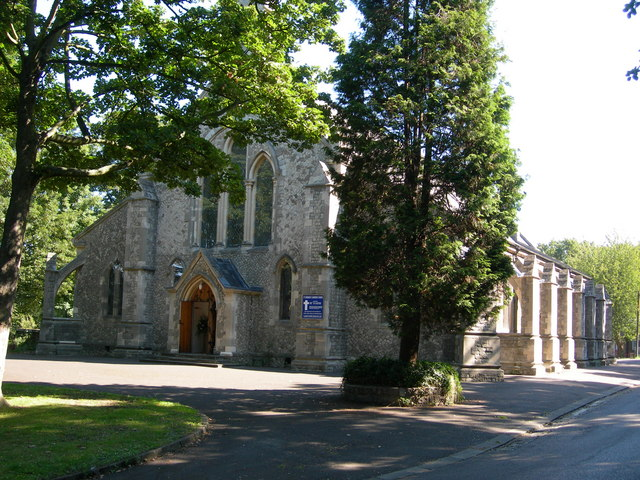 The Garrison Church of Saint Barbara, Maxwell Road, Brompton (2)
