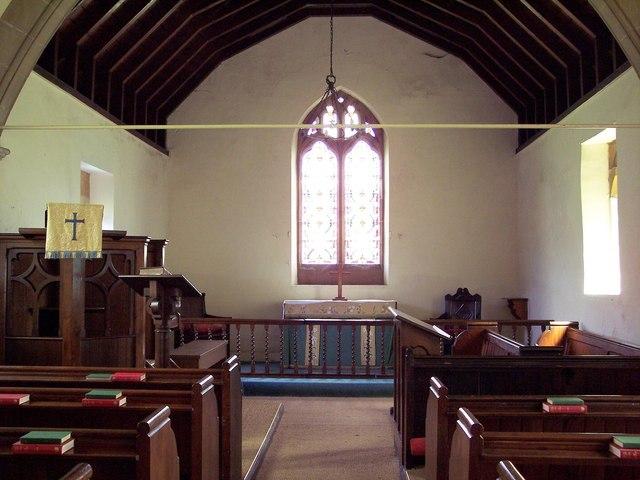 All Saints Church, Nether Silton - Interior