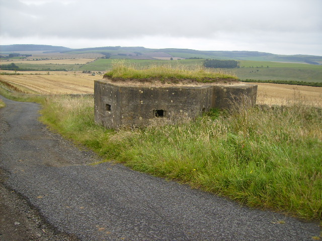 Pill Box located on St Cuthbert's Way