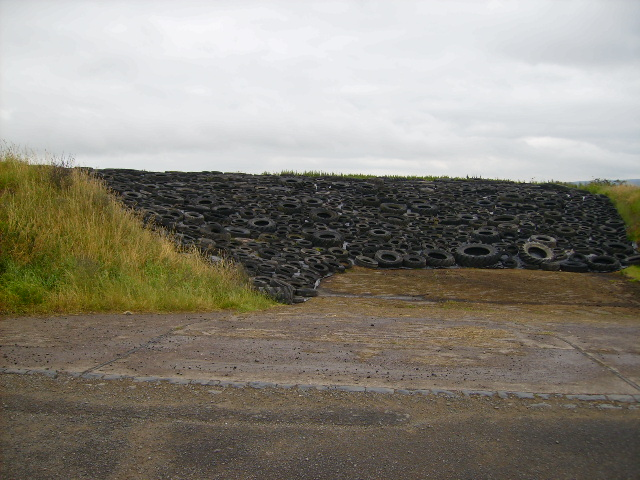 Large silage pit at Mealkail Knowe
