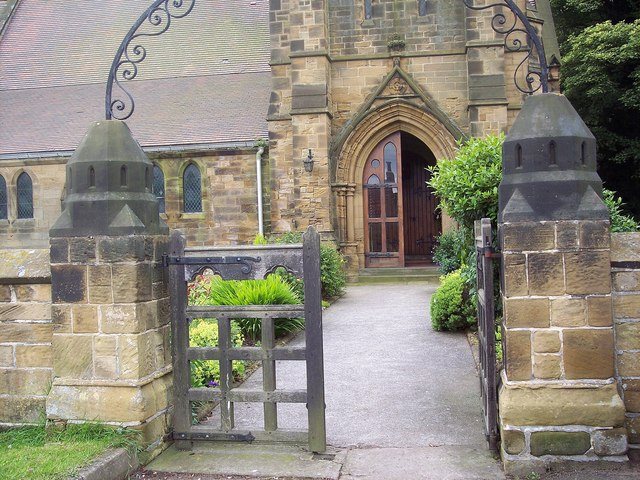 Holy Cross Church, Swainby - Door