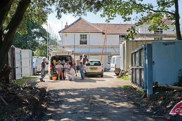 Refurbishing Potwell House, nr Purbrook