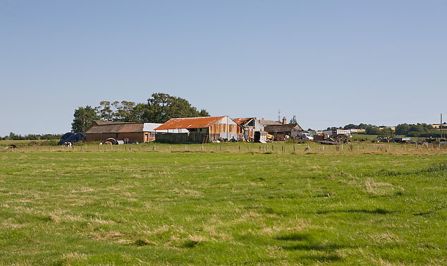 The back side of Mill Farm, Widley