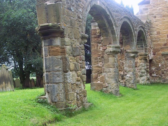 The Church of the Holy Rood, Whorlton - Arches