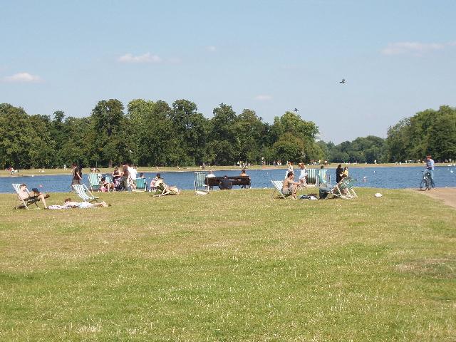 Round Pond, Kensington Gardens