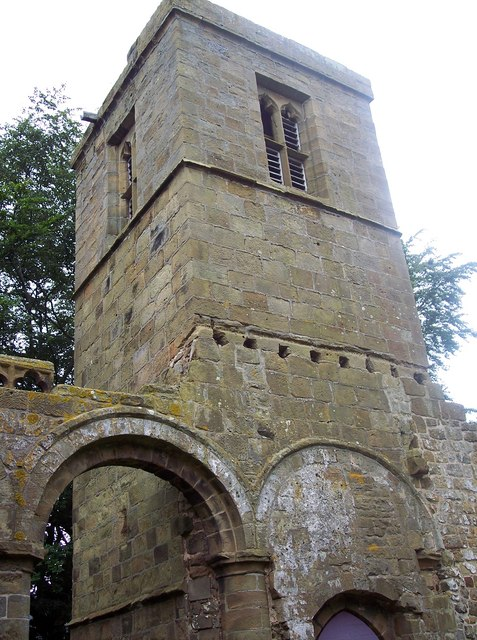 The Church of the Holy Rood, Whorlton - Tower