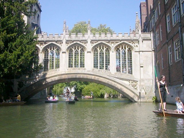 Cambridge-The Bridge of Sighs