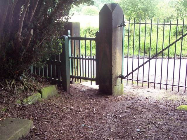 Gates at Whorlton Old Church