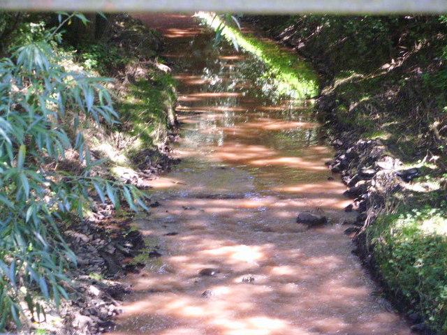 Muddy waterway near to Kinley Farm