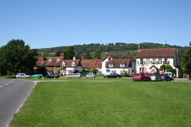 Brockham Green village (1)