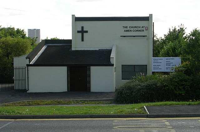 The Church at Amen Corner