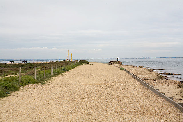 Stansore Point, Lepe Country Park