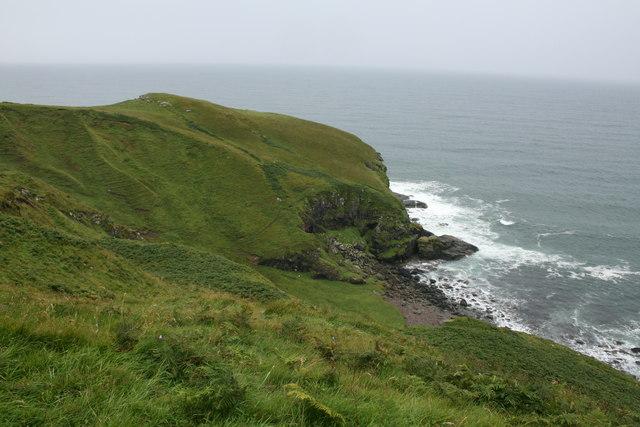 Small Headland Near Ballygroggan.