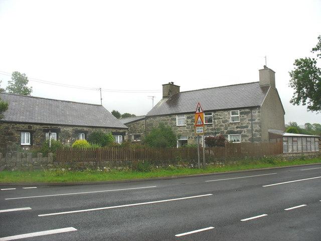 Fron Olau - a former farmhouse