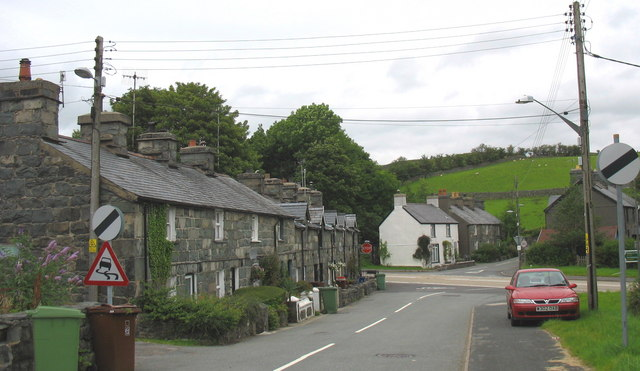 Crossroads - where the A470 crosses Station Road