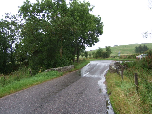 Bridge over Learney Burn