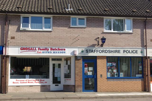Shops on Wharf Road, Gnosall Heath